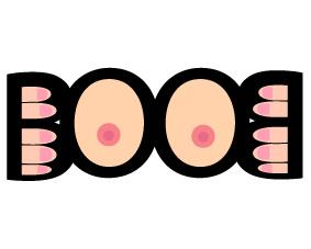 caligrama boob