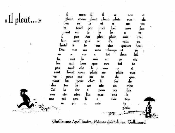 caligramas Apollinaire