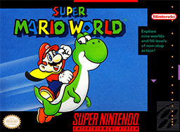 super mario world secret area